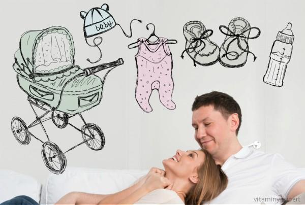 Фолиевая кислота при планировании беременности должна употребляться и мужчиной, и женщиной