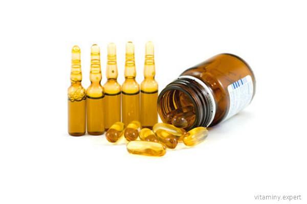 Формы выпуска витамина Е