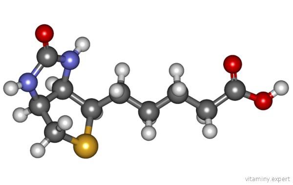 Молекула биотина