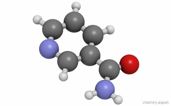 Молекула витамина PP