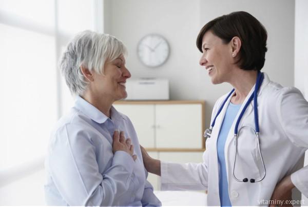 При симптомах избытка витамина нужно показаться врачу