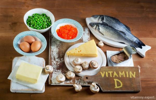 Продукты, богатые витамином Д