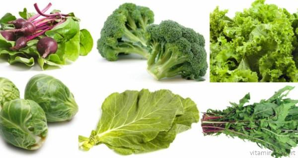 Продукты, богатые витамином K