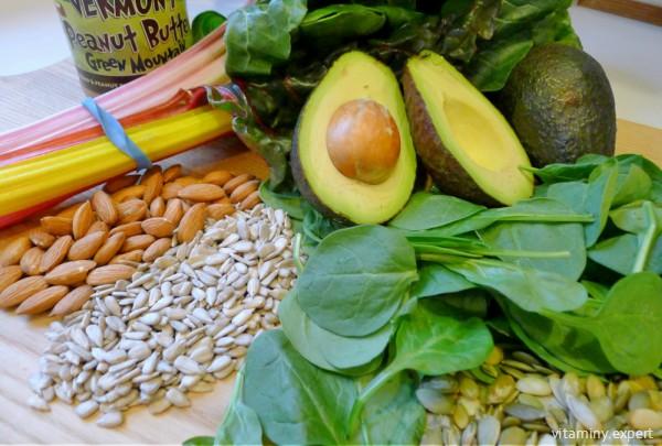 Продукты, содержащие много витамина Е, нужно включать в рацион при планировании беременности