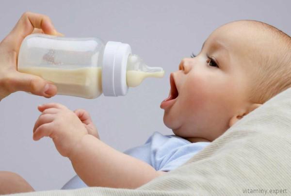 Ребенок на искусственном вскармливании часто не нуждается в дополнительном приеме витамина Д