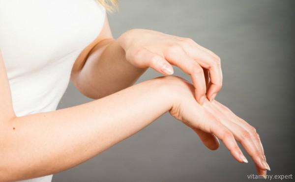 В редких случаях биотин вызывает аллергию
