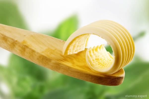В сливочном масле содержится витамин Е