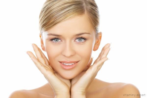 Витамин Е благотворно влияет на кожу