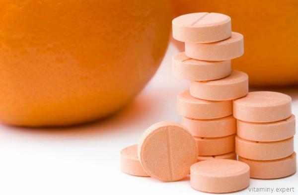 Аскорбиновая кислота в таблетках
