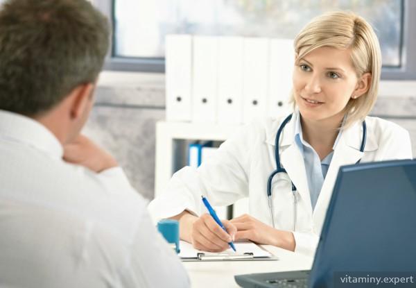 Доктор назначает цианокобаламин