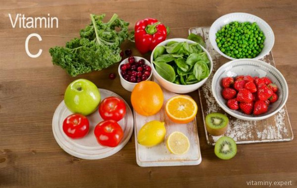 Еда, богатая витамином С