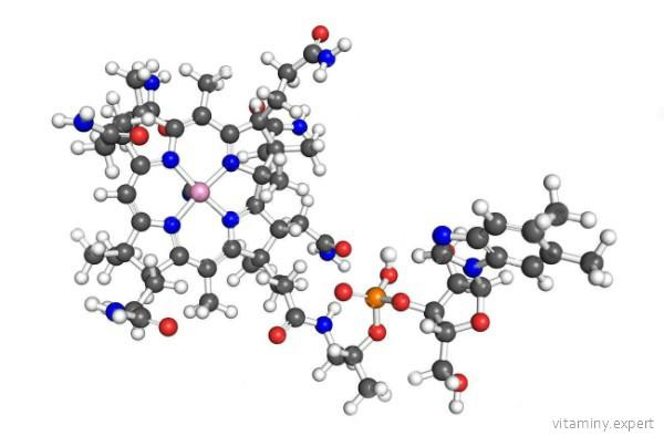 Молекула кобаламина