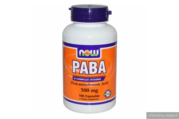 Препарат парааминобензойной кислоты