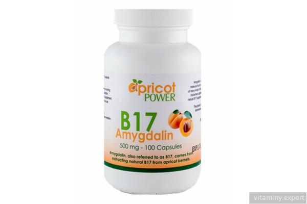 Препарат с витамином B17
