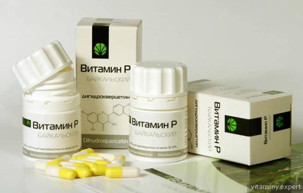 Препараты витамина P