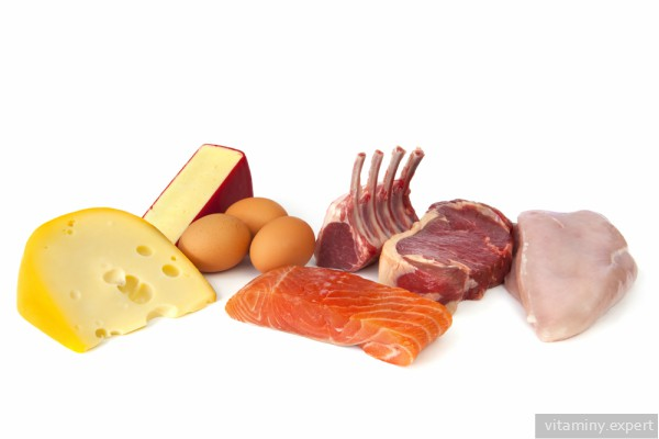 Продукты с высоким содержанием витамина B11