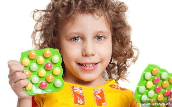 Ребенок и витамины