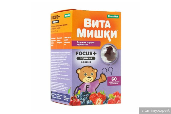Вита Мишки Focus +