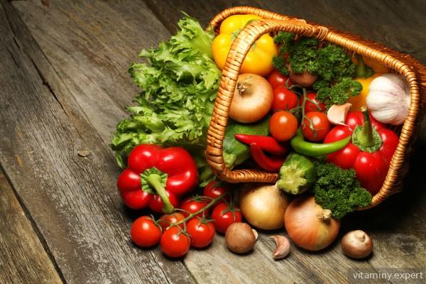 Витамин U содержится в овощах