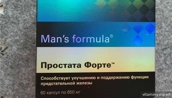 Man's Formula