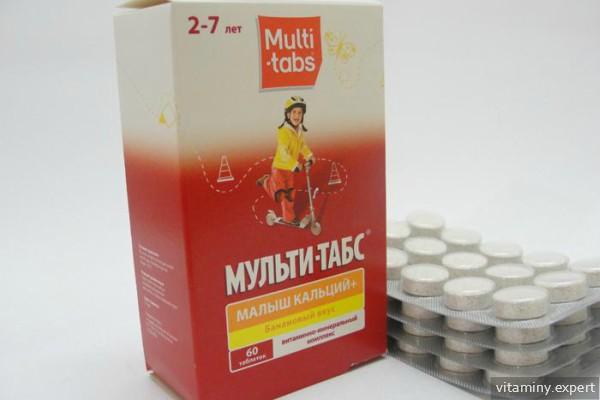 Мульти-Табс Малыш Кальций+