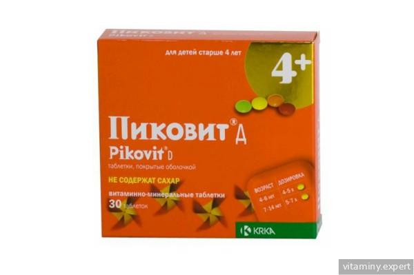 Пиковит 4+