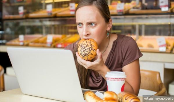 Стресс и неправильное питание