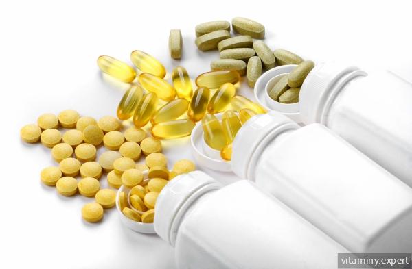 Витамины в баночках