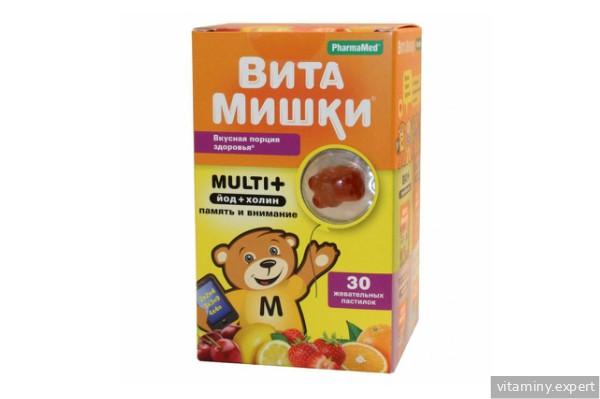 ВитаМишки Мульти+