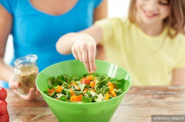 Здоровое питание ребенка