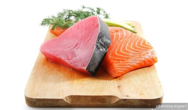 Жирные сорта рыб - источник кальциферола
