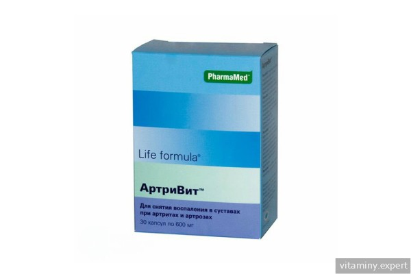 Изображение - Витамины для хрящей и суставов людям artrivit
