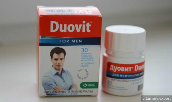 Витаминно-минеральный комплекс для мужчин Дуовит