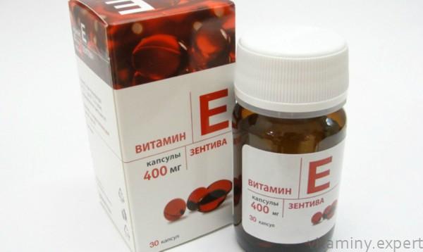 Дозировка витамина Е 400 мг