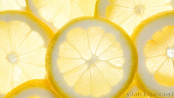 Лимонный кольца