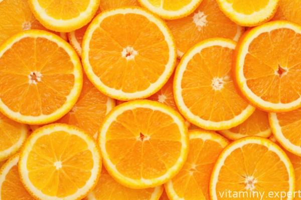Порезанные апельсины