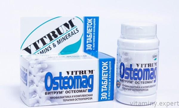 Витрум Остеомаг для лечения и профилактики остеопороза