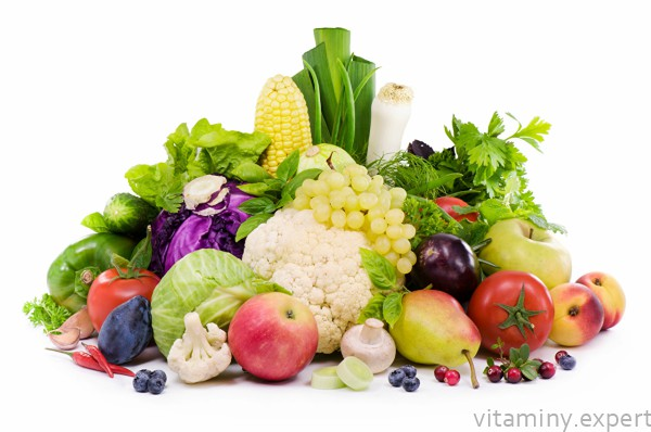 Витамин С в еде