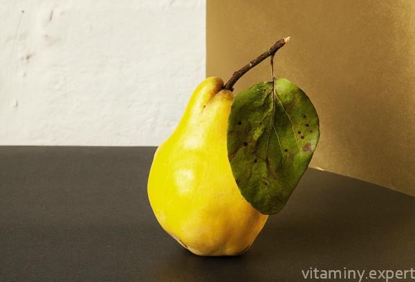 Желтая груша