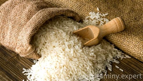 Рис из мешка
