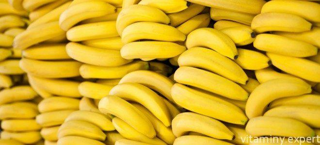 Миниатюра к статье Какие витамины и минералы содержатся в банане?