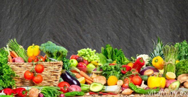 Миниатюра к статье Таблицы содержания витаминов во фруктах и овощах