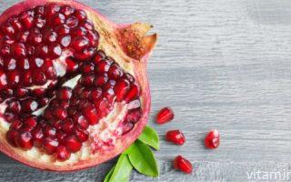 Миниатюра к статье Какие витамины и микроэлементы можно найти в гранате