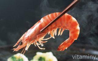 Миниатюра к статье Витамины и минералы в креветках и кальмарах