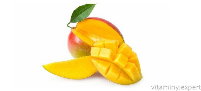 Миниатюра к статье Какие витамины содержатся в манго и в чем их польза?