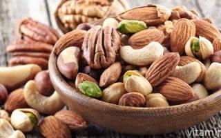 Миниатюра к статье Содержание витаминов в орехах