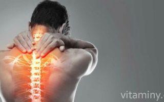 Миниатюра к статье Какие витамины помогут при остеохондрозе