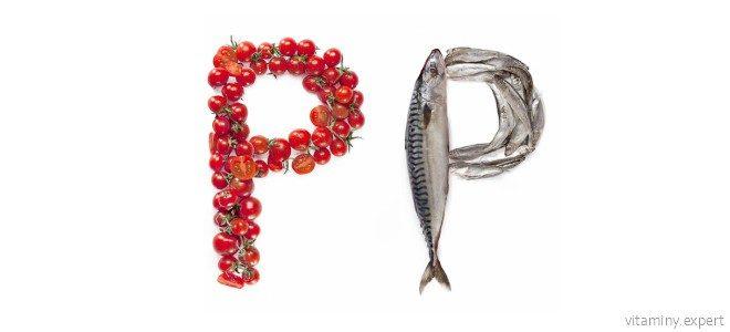 Миниатюра к статье Роль витамина PP в организме человека