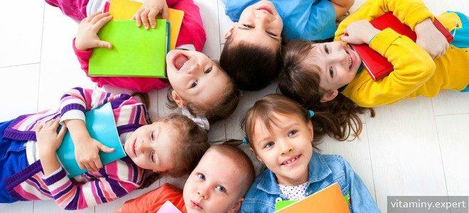 Миниатюра к статье Витаминные комплексы для детей 4 лет