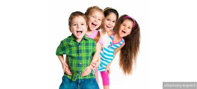 Миниатюра к статье Какие витамины лучше выбрать для 5-летних детей?